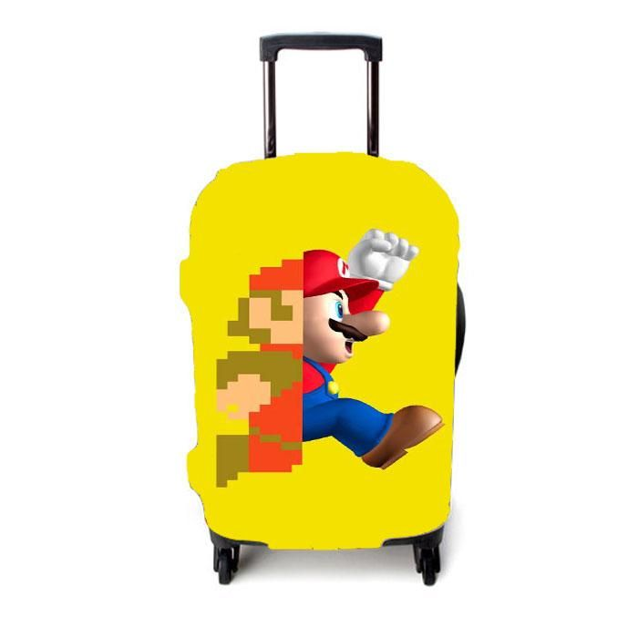 Legend of Zelda Travel Luggage Cover Suitcase Protector Fits 26-28 Inch Washable Baggage Covers