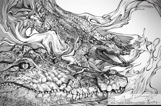 2012 SOKI 공모전 출품작11-Siamese Crocodile 샴 악어