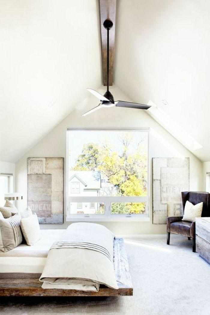 63 best Chambre blv images on Pinterest Woodwork, Crate furniture - ventilateur de plafond pour chambre