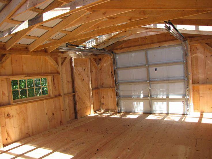 46 best garages jcs images on pinterest garage sheds for 2 bay garage kit