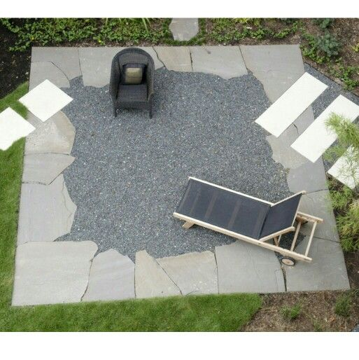 best 25+ gravel patio ideas on pinterest | patio lighting ... - Gravel Patio Designs
