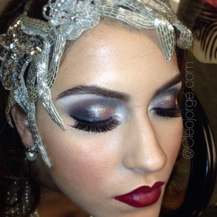 Gatsby Inspiration 20u0026#39;s Makeup U0026 Hair   Makeup By Me Cleojorge.com   Pinterest   Gatsby ...