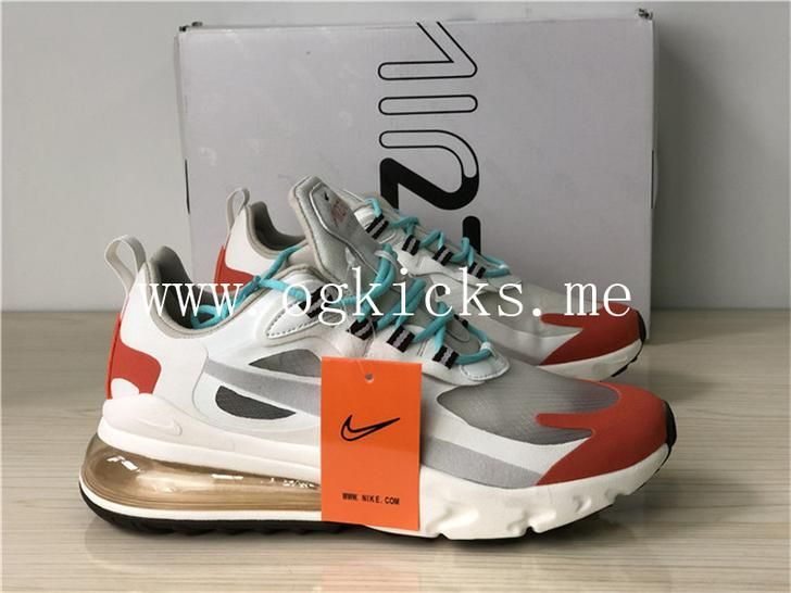 air max 270 react beige orange
