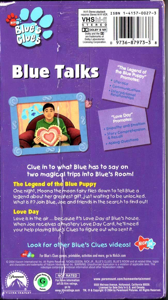 latest (650×1158) | Blue's Clues | Communication