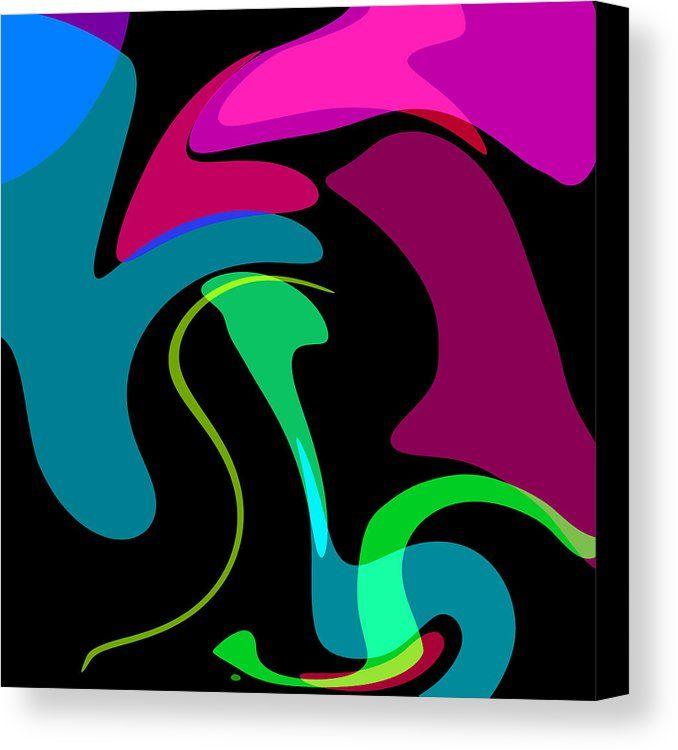 Minimalist 1 Canvas Print by Chris Butler.  #abstract #art #artdeco #design #interior #home #Decor #wall #modern #contemporary #homedecor #abstractart #interiordesign #vibrant #vivid #designer #minimalist #minimalism