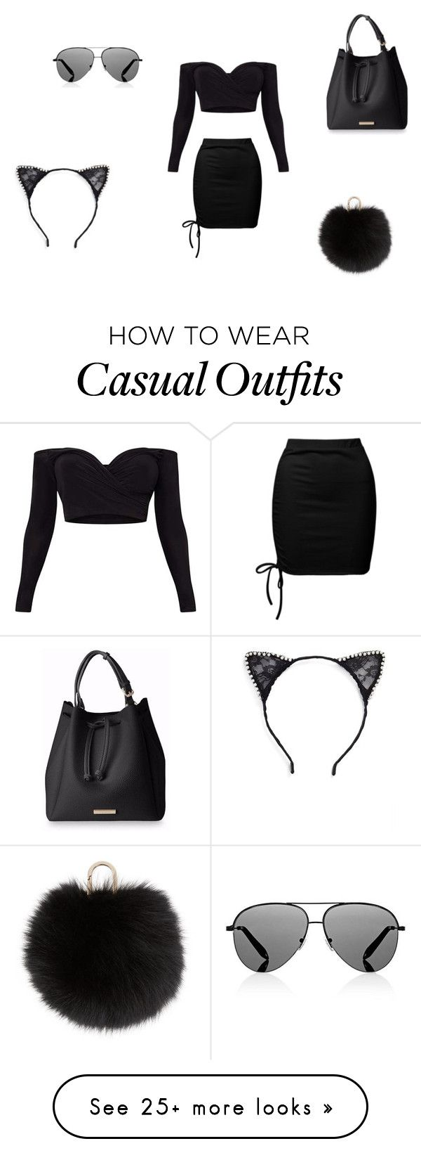 """""""Casual"""" by wjazmine878 on Polyvore featuring Sans Souci, Victoria Beckham, Tasha and Yves Salomon"""