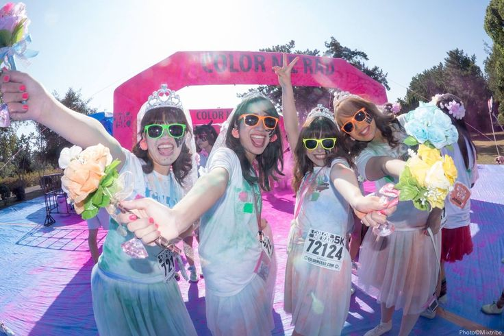 Color Me Rad Fukuoka 2014  #festival #japan #cosplay