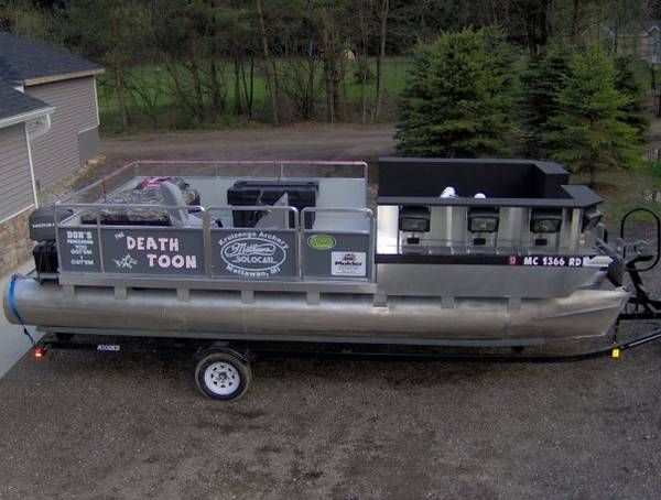 bow fishing boat? - Bow Fishing