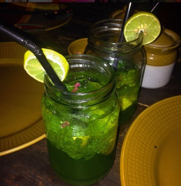 Virgin Mojito can be yummy too! *Who would have thought?*  @Chenab