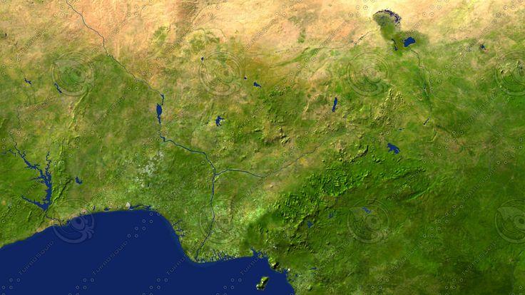 Nigeria Maps Max - 3D Model