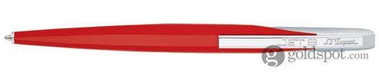 S.T. Dupont Jet 8 Fiery Red Ballpoint Pen