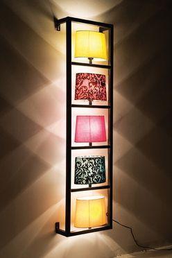 Kare Design's Vertical Parecchi Wall Lamp