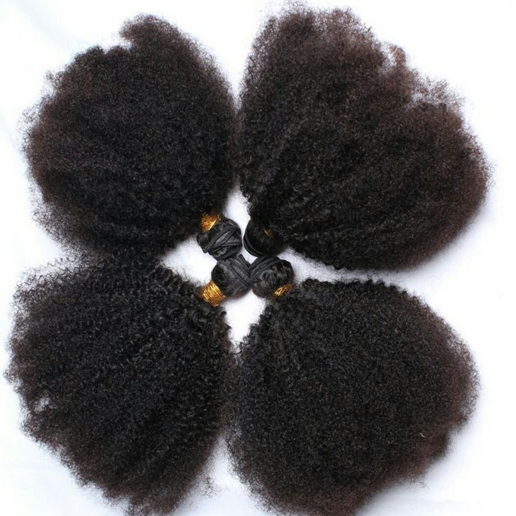 Mongolian Kinky Curly Hair wave hair Extensions by AbbieHairAndBeauty on Etsy