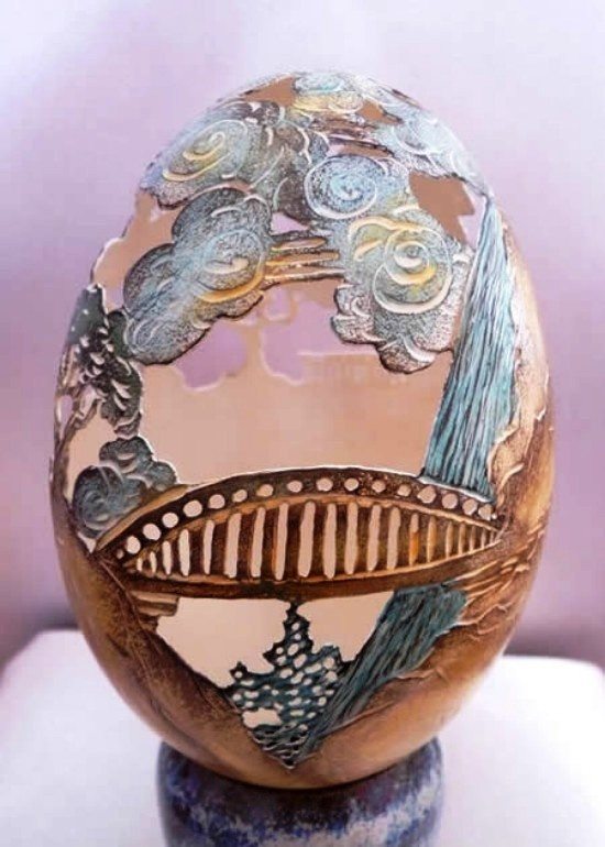 17 best images about egg carving on pinterest sculpture for Egg shell art