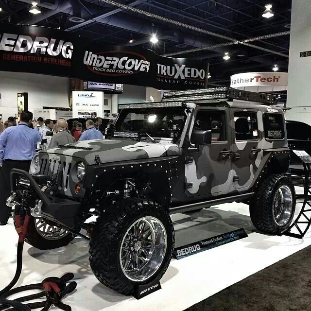 36 Best Images About Camo Trucks Jeeps On Pinterest