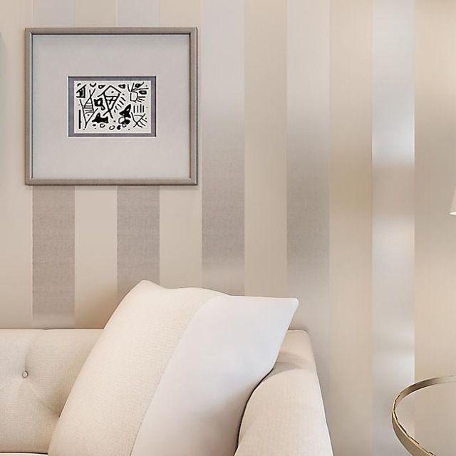 1000 ideas sobre papel pintado a rayas en pinterest - Dormitorios pintados a rayas ...