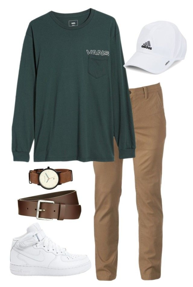 """Dood outfit"" by kaylynn-alissa on Polyvore featuring Urban Pipeline, Vans, NIKE, Ted Baker, adidas, BOSS Orange, men's fashion and menswear"