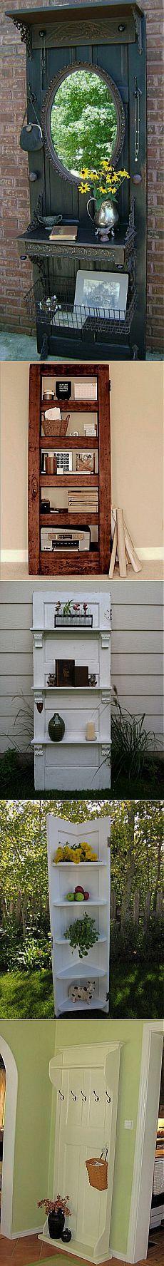 Не выбрасывайте старые двери - из них можно создать чудо!.