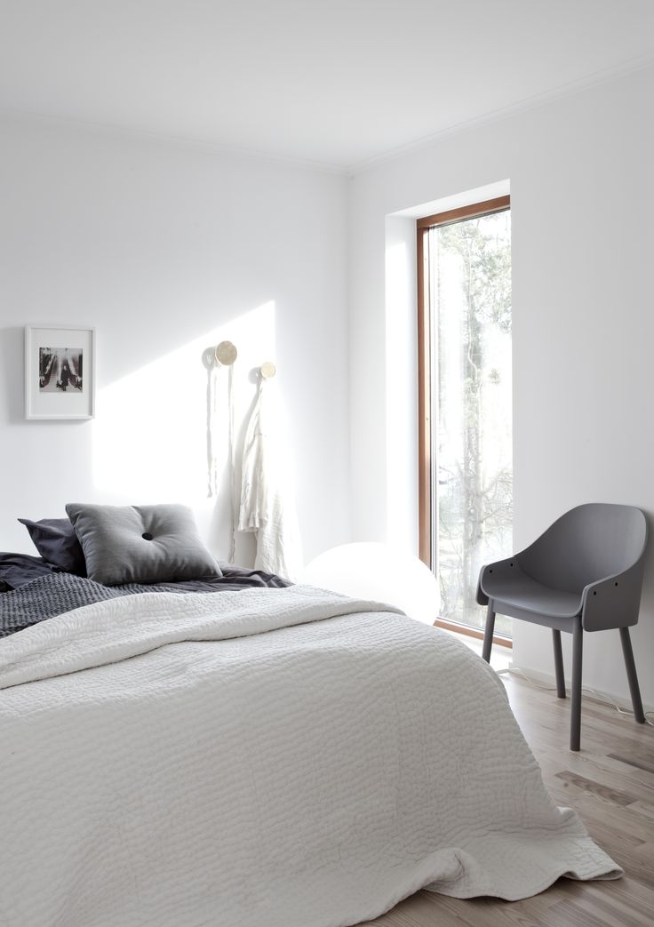 simple white and grey room the design chaser homes to inspire