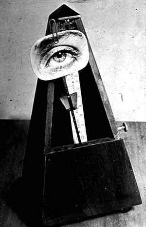 Man Ray, Indestructible Object (Object to be Destroyed)  I've seen this in person at the nelson and it is one of my favorite pieces
