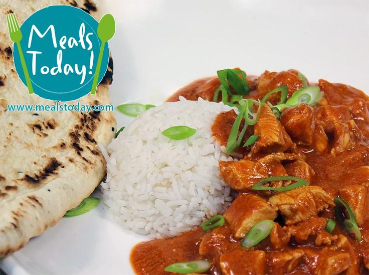 Butter Chicken infused with Yoghurt & Cinnamon served atop fluffy Long Grain Rice  Available to order now, for delivery on Tue 30th September  www.mealstoday.com    #mealstoday