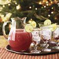 Christmas drink--pomegranate margaritas