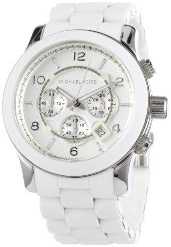 Men's Stainless Steel Quartz Chronograph White Dial [Watch] Michael Kors: Watches: Amazon.com