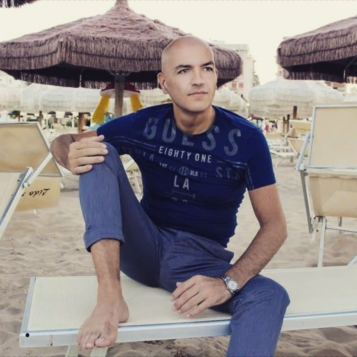 Marco Eugenio Di Giandomenico in Forte Dei Marmi (Italy) (August 14, 2017)