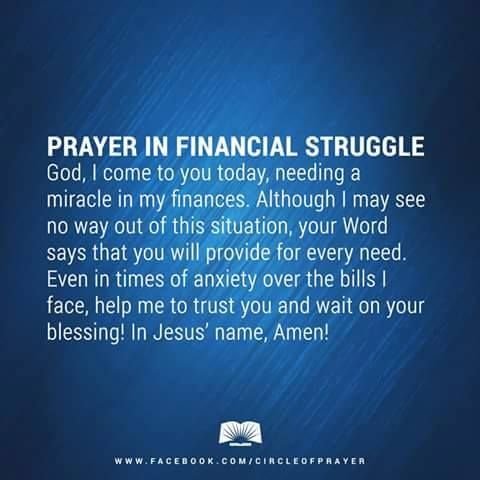 Financial Prayer