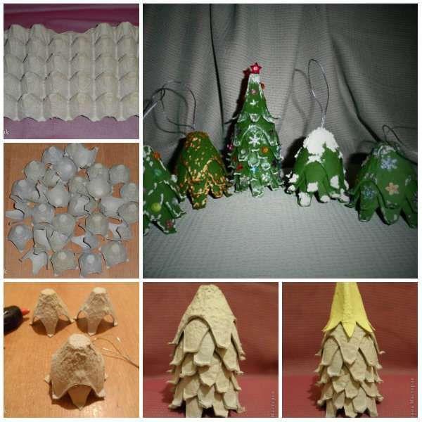 Faire Des Decorations De Noel Avec Des Boites A Oeufs