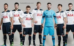 Tottenham Home Shirt 2016 17