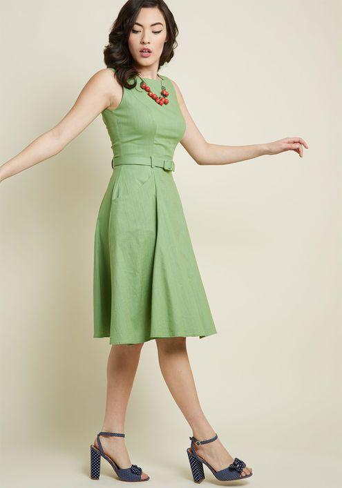 ecce7b91c7f9 Collectif x MC Astute to Boot A-Line Dress in 2019   kläder   Kläder