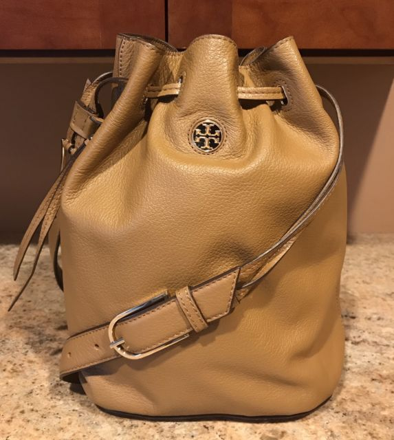 Tory Burch Brody Bucket Bag - Bark
