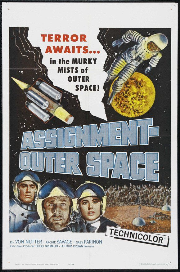Assignment Outer Space (1960) DVD | Outer space movies ...
