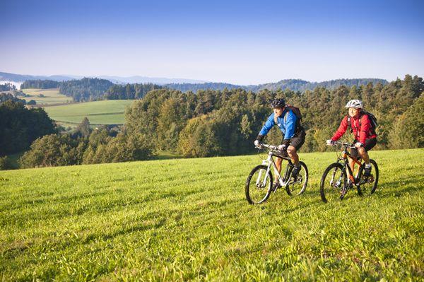 Mit dem #Mountainbike das #Mühlviertel entdecken. Weitere Informationen zu #Mountainbikeurlaub im Mühlviertel in #Österreich unter www.muehlviertel.at/mountainbike - ©Oberösterreich Tourismus/Erber