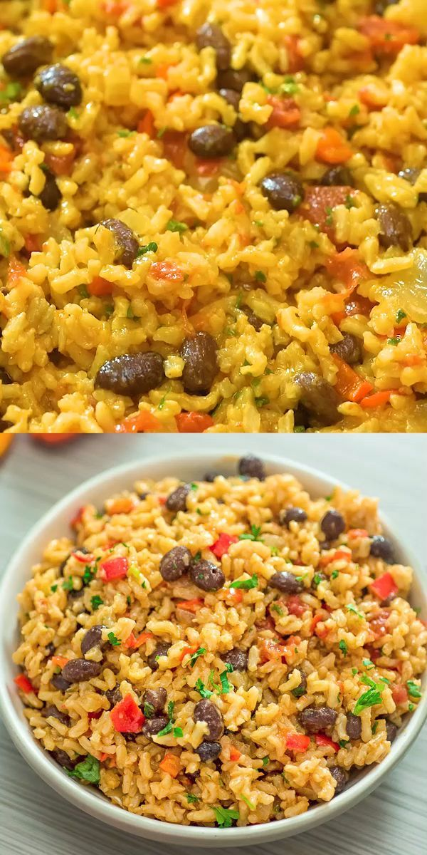 This is THE ONLY Rice and Beans recipe you'll ever need! Made with simple ingr…