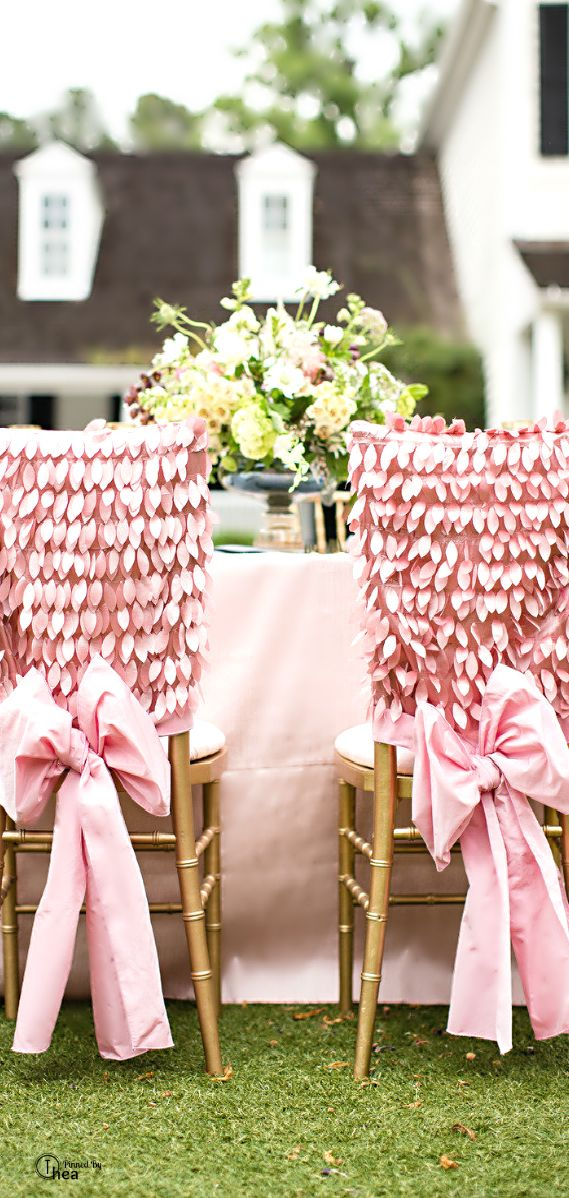 439 best fun wedding chairs images on pinterest wedding chairs wedding chair dcor pink junglespirit Gallery