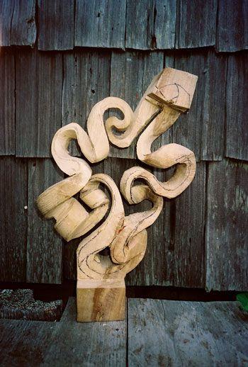 John McAbery - houtsnij proces - stap 4