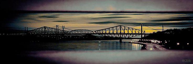Les deux ponts  Photographie: André Nadeau