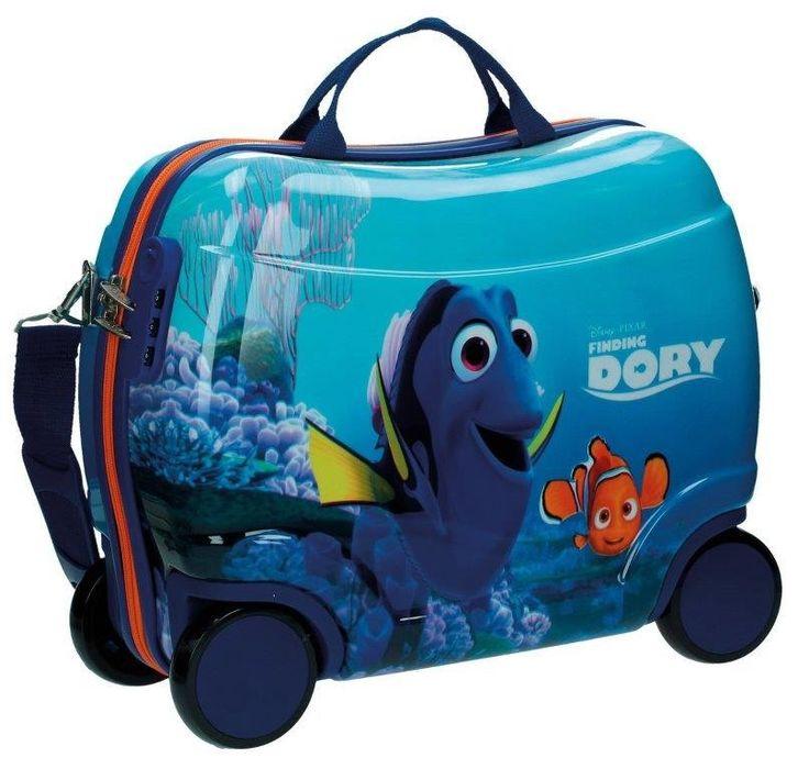 Disney Nemo e Dory Valigia Cavalcabile in ABS