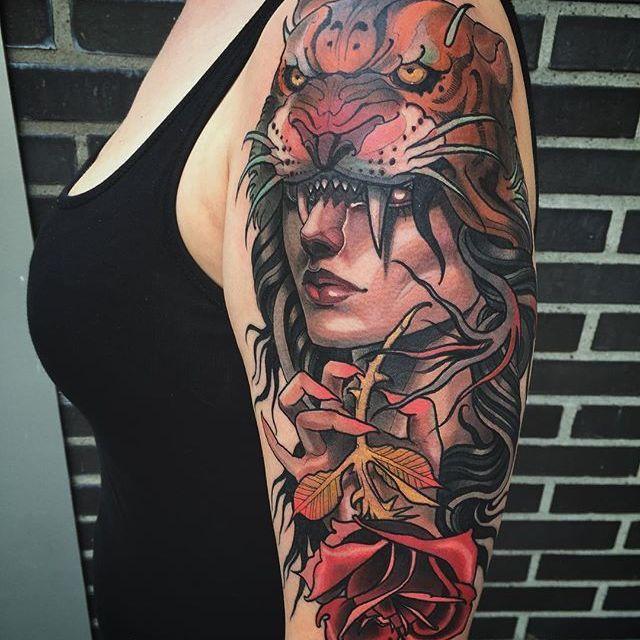 Best 25+ Traditional Tattoo Girls Ideas On Pinterest