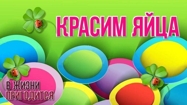 🐦 Как красить яйца - 4 простых способа украсить пасхальные яйца