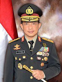 Komjen. Pol. Tito Karnavian calon kapolri tunggal yang dipilih Presiden Joko Widodo.