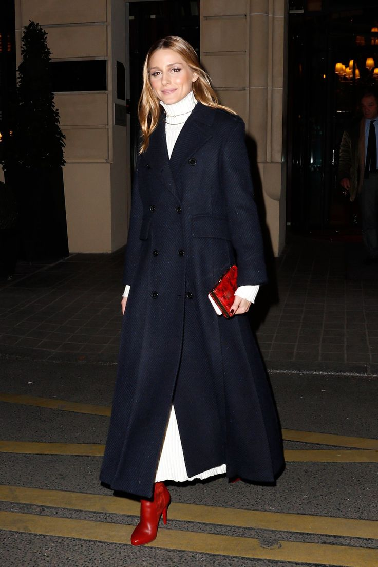 The Red Shoes Are Coming and Olivia Palermo Knows Just How to Style Them