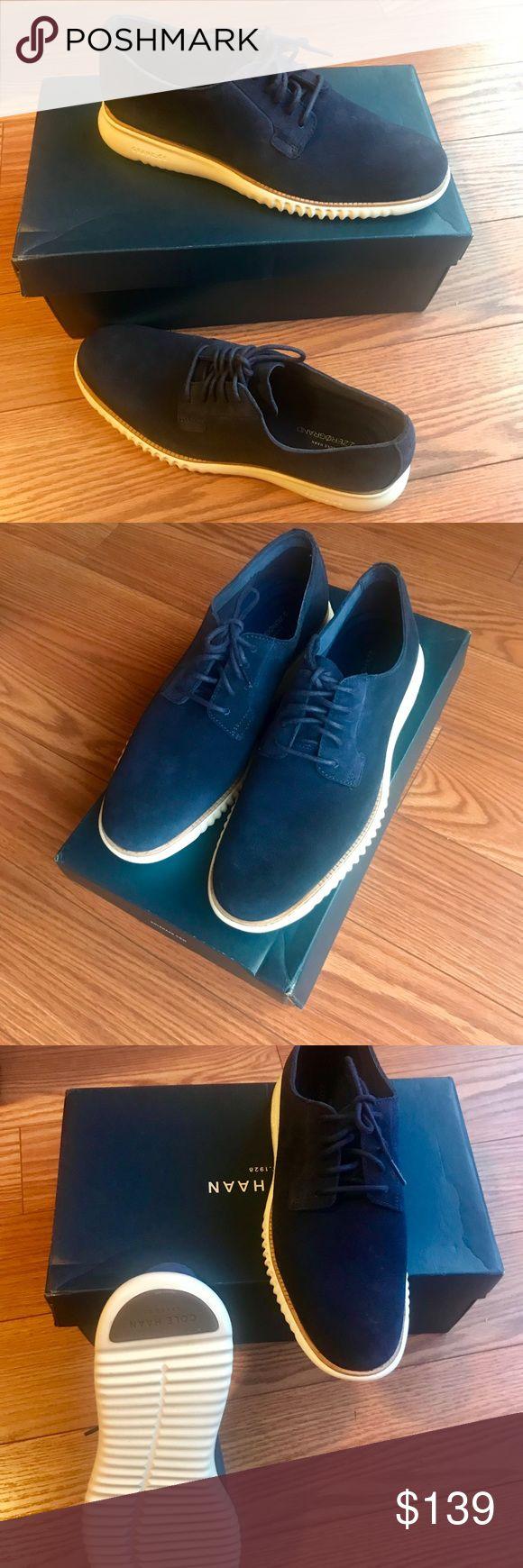 ❄️Cole Hann❄️ blue size 10 Men's shoes NWT Brand new Cole Hann size 10 shoes. Cole Haan Shoes Chukka Boots