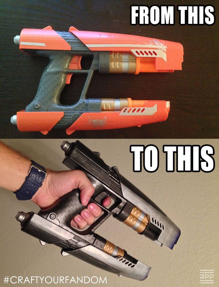 Star-lord gun reference