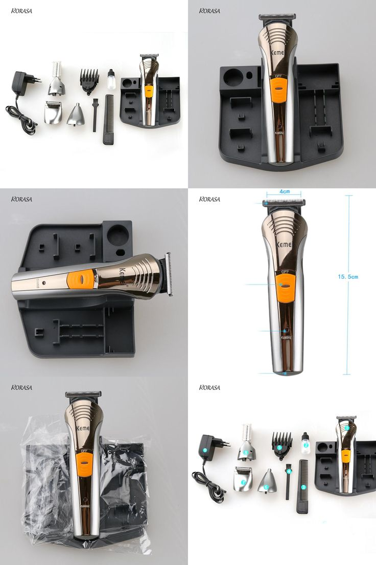 [Visit to Buy] 7in1 Rechargeable Men Trimmer Hair Clipper Grooming Hair Beard Body Clipper Electric Razor Shaver Kit Hair Cutting Comb Machine #Advertisement