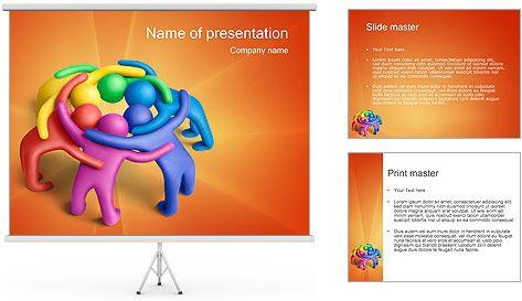 Trabajo en equipo Plantillas de Presentaciones PowerPoint