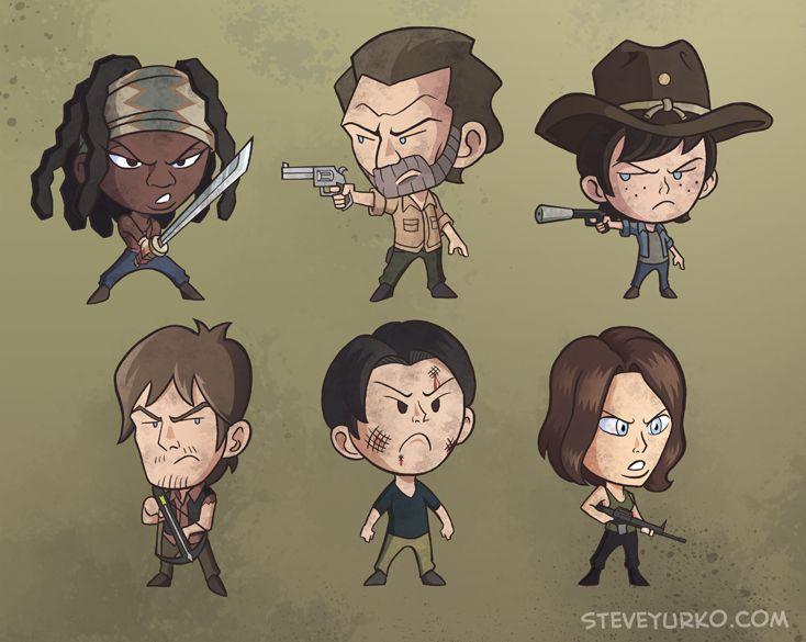 Wee Walking Dead by TheSteveYurko on DeviantArt