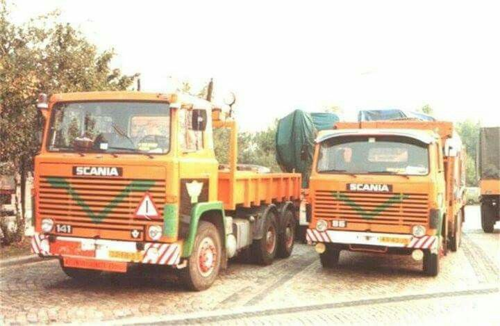 Scania 141 speciaaltransport.